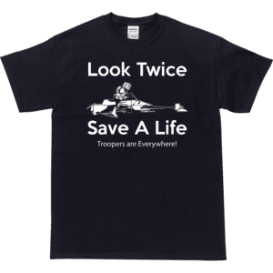 Look Twice Save A Life T-Shirt