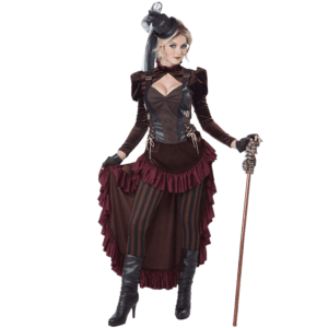 Womens Victorian Steampunk Costume
