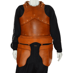 Formed Leather Cuirass with Tassets