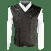 Brown Brocade Shaper Vest