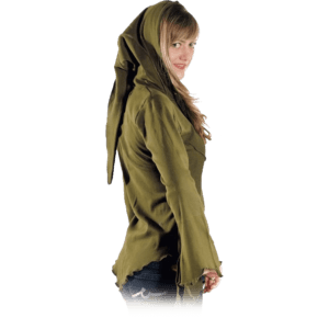 Pointed Pixie Hood Jacket