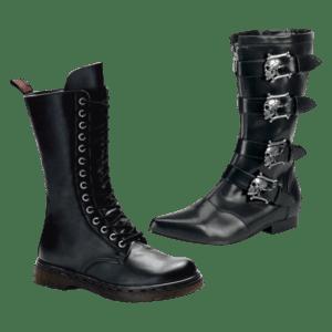 Men's Gothic Footwear