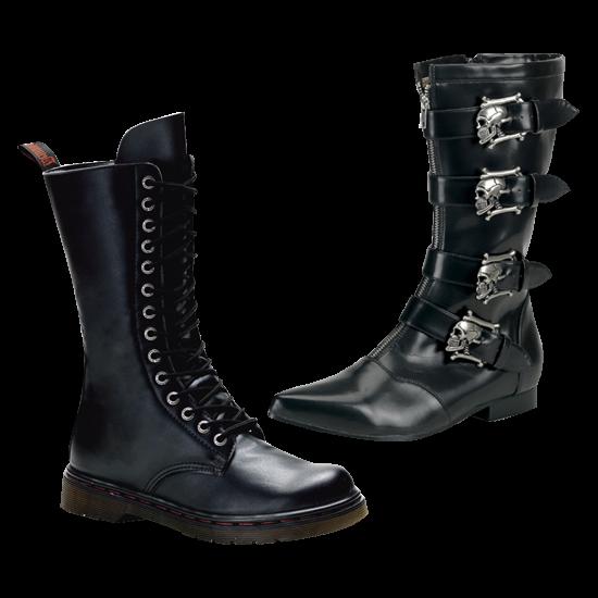 Men's Gothic Footwear, Combat and