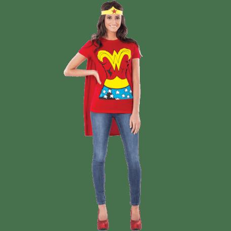 Adult Wonder Woman T-Shirt Costume