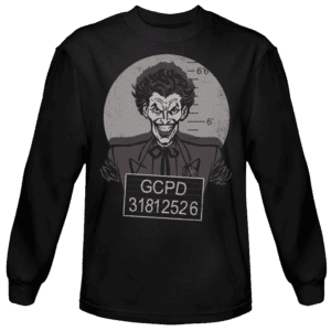 Captured Clown Long Sleeved T-Shirt