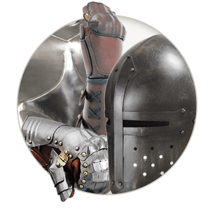 Steel and Leather Armour