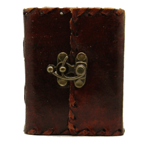 Travelers Leather Journal with Lock