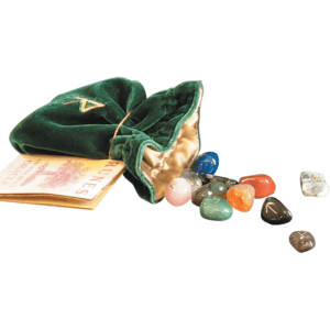 Mixed Rune Stone Set with Bag