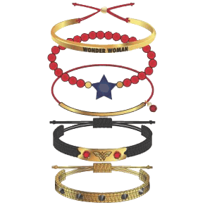 Wonder Woman Arm Party Bracelets