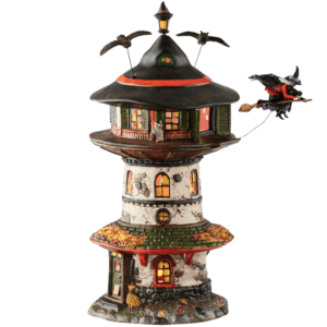 Witch Way Home Tower - Halloween Village by Department 56