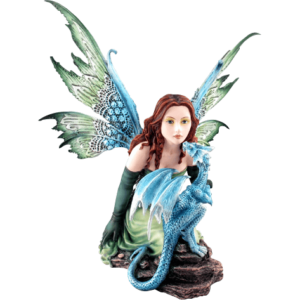 Whispering Fairy Dragon Statue