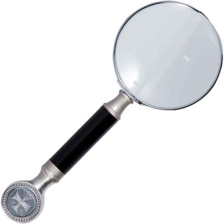 Black Templar Knight Magnifying Glass by Marto
