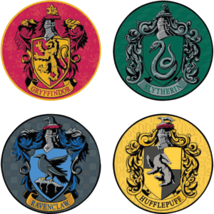 Harry Potter Houses 4 Piece Coaster Set