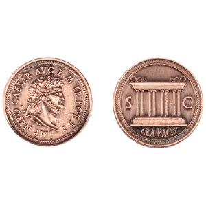 Set of 10 Copper Roman LARP Coins