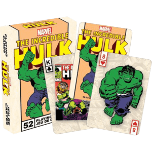 Classic Incredible Hulk Playing Cards