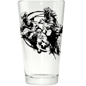 Avengers Group Circle Pint Glass