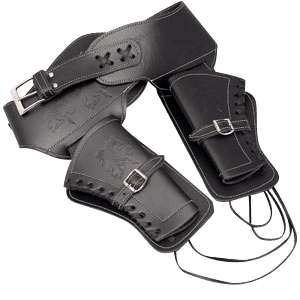 Black Double Holster - Small
