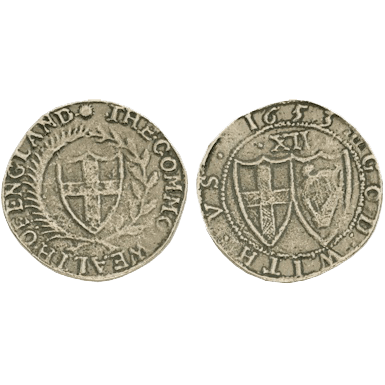 Commonwealth Shilling Replica Coins