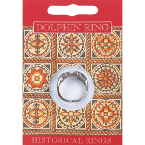 Pewter Dolphin Ring