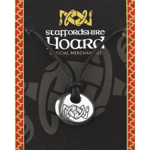 Staffordshire Hoard Logo Rune Stone Necklace