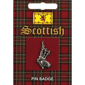 Scottish Bagpipes Pin Badge