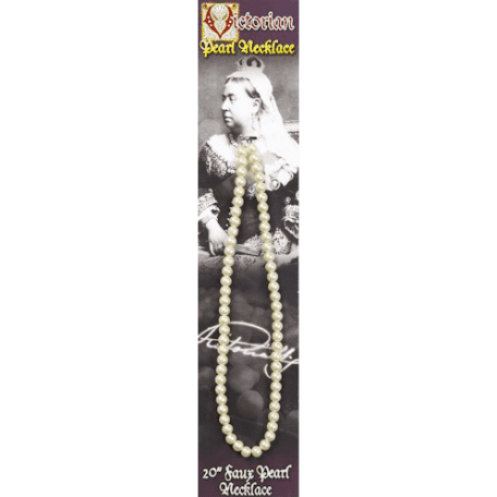 Victorian Faux Pearl Necklace