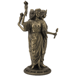 Hecate Goddess of Magic Statue