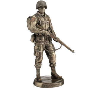 Bronze US Army Solider