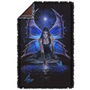 Anne Stokes Immortal Flight Woven Blanket