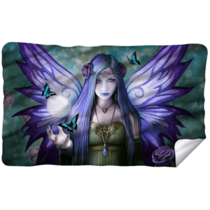 Anne Stokes Mystic Aura Fleece Blanket