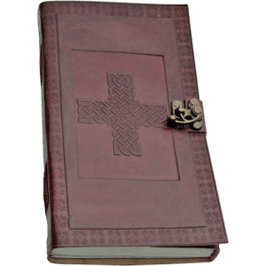 Celtic Cross Journal With Lock