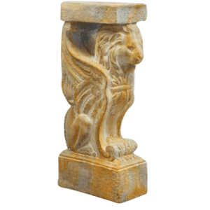 Winged Lion Console Base - 29 Inches