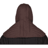 Padded Collar with Cap - Brown