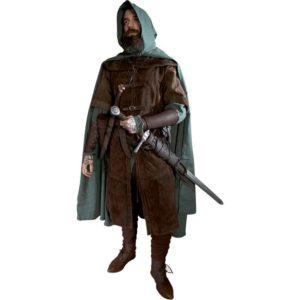 Garen Mens Medieval Ranger Outfit