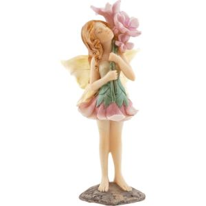Holding Flowers Fairy Statue