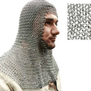 Round Ring Chainmail Coif
