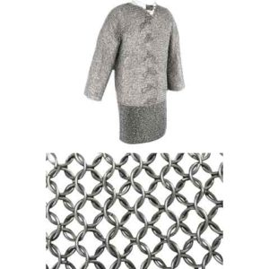 48 Inch Mercenary Grade Mail Hauberk