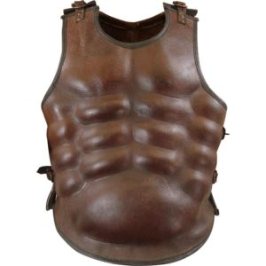 Greek Leather Muscle Armour
