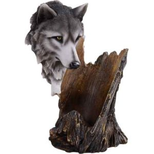 Wolf Head Wine Holder