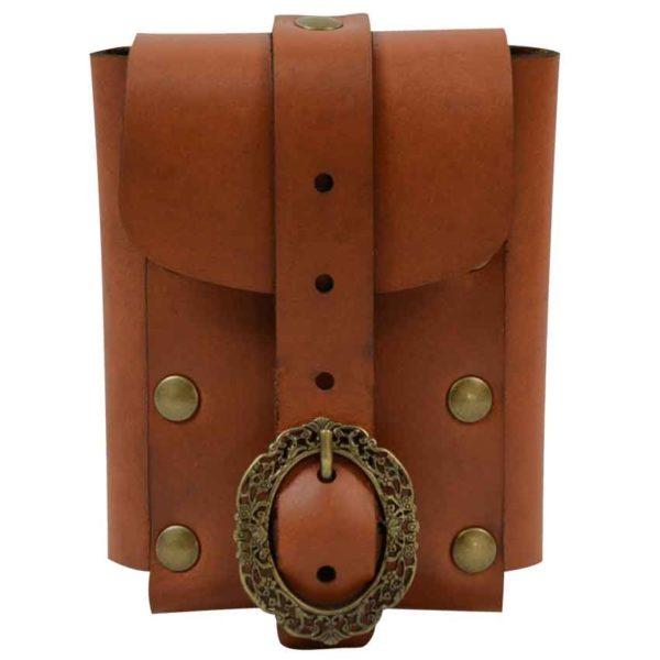 Medium Nobles Leather Belt Pouch