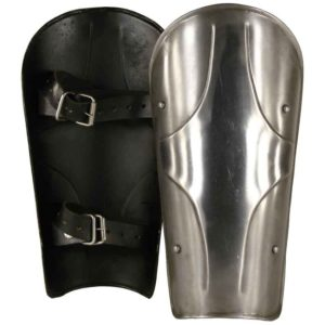 Kings Steel Greaves