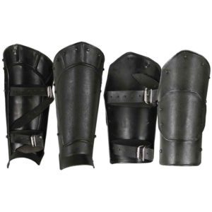 Undead Arm Bracer and Greave Set