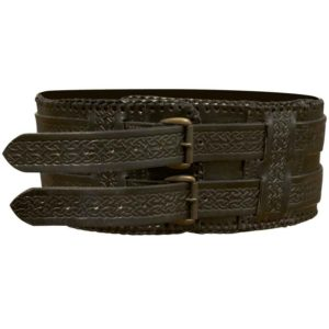 Leather Barbarian Belt
