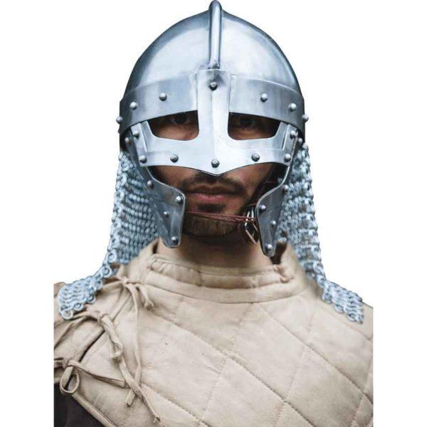 Raven Helmet – Polished Steel