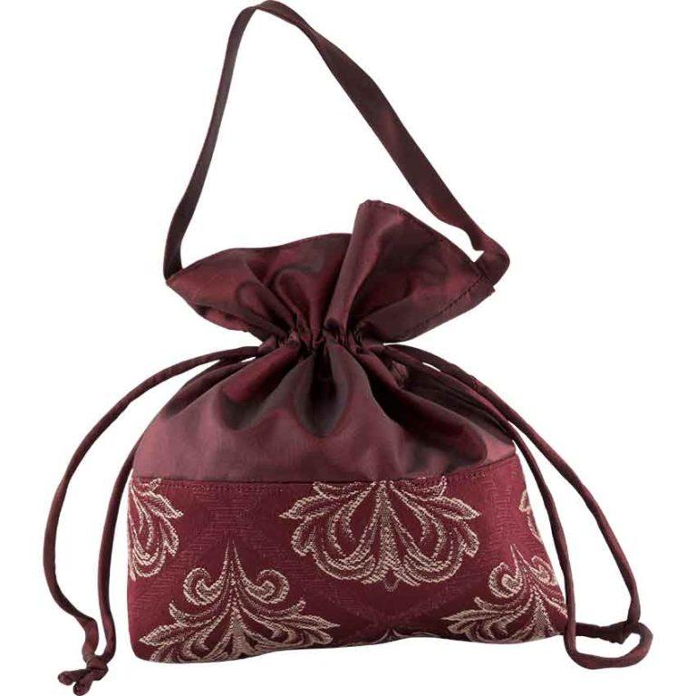 Taffeta Drawstring Bag