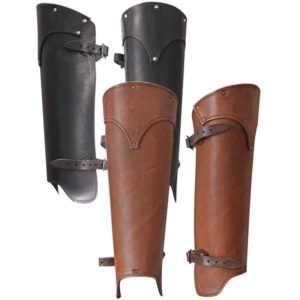 Lion Leather Greaves