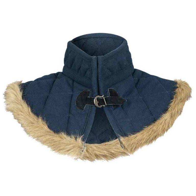 Nimue Fur Lined Wool Gorget