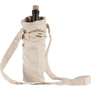 Canvas Bottle Bag – Ecru
