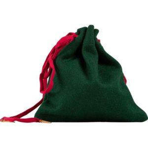 Wool Drawstring Pouch
