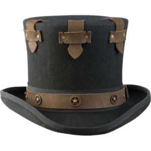 Steampunk Secret Top Hat